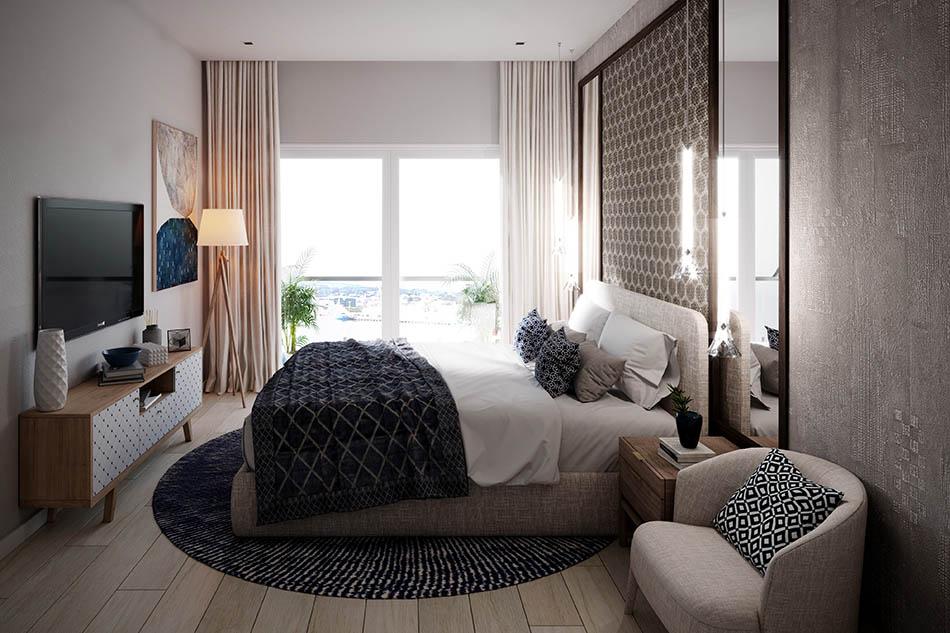 Cana Pearl Condo Living Room