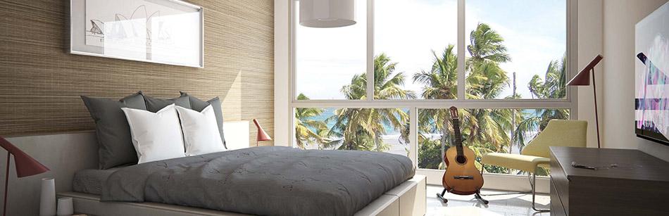 Aquarella Bedroom Window