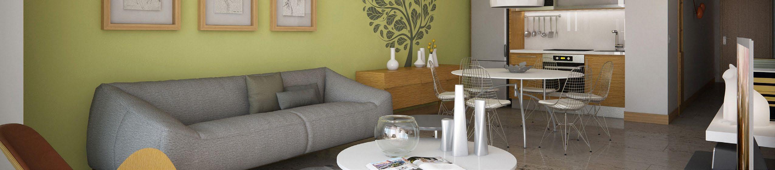 Aquarella Living Room