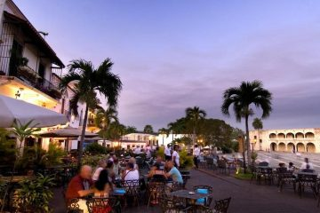 Zona Colonial Night Beach