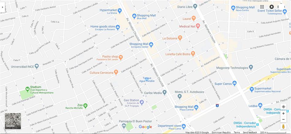 Santo Domingo Map 2