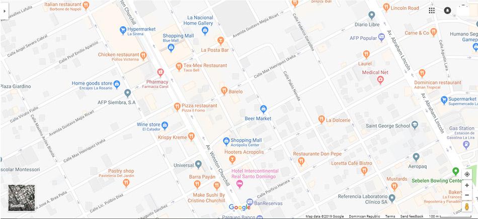 Santo Domingo Map 3