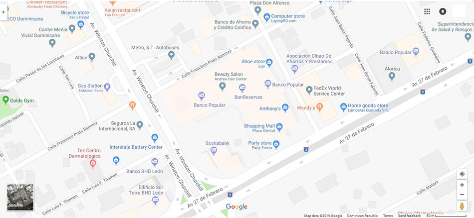 Santo Domingo Map 5