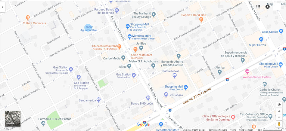 Santo Domingo Map 4